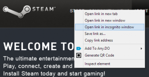 Opening in a new window will provide a referrer, but not opening in incognito mode
